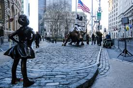 Wall Street Bull Girl Statue State Street Gender Disparity | Time