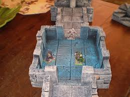 3d Dungeon Tiles Uk by 85 Best Dungeon Images On Pinterest Hirst Arts Game Terrain And