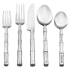 Bamboo Flatware | EBay Storage Bins Pottery Barn Metal Canvas Food Gold Flatware Set Cbaarchcom Ikea Mobileflipinfo Setting A Christmas Table With Reindeer Plates Best 25 Rustic Flatware Ideas On Pinterest White Cutlery Set Caroline Silver20 Piece Service For The One With The Catalog And Winner Yellow Woodland Fall By Spode Fall Smakglad 20piece Ikea Ideas For Easter Brunch Fashionable Hostess