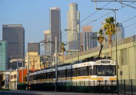 Lamps Plus La Brea Ave by Expo Line Highlights A Year In Which Overall Ridership Declines