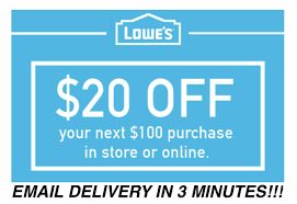 THREE 3x Lowes $20 OFF $100 Coupons Discount - In Store ... Nahb Member Discount At Lowes For Pros 50 Mothers Day Coupon Is A Scam Company Says 10 Off Printable Coupon Code February 2015 Local Coupons Barcode Formats Upc Codes Bar Graphics Holdorganizer For Purse Ziggo Voucher Codes Online Military Discount Code Lowes Rush Essay Yogarenew Online Entresto Free Olive Garden 2016 Nice Interior Designs Stein Mart Charlotte Locations Jon Hart 2019 Adidas The Best Dicks Sporting Goods Of 122 Gift Card Promo Health And Beauty Gifts