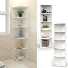 vicco eckregal weiß regal küchenregal badezimmer gästebadezimmer bad 4 ablagen