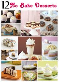 bake dessert recipes