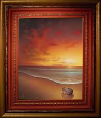 Sunrise Sunset And Moon Paintings For Your Inspiration World Of Arts