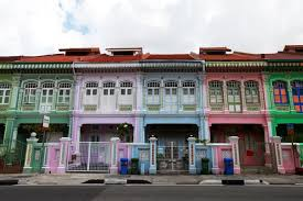 Houses In Pictures by Joo Chiat Peranakan Houses スポット Herenow Singapore ヒア