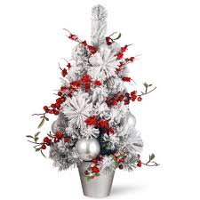 Ceramic Christmas Tree Bulbs Canada by Mr Christmas 7 In Christmas Porcelain Nostalgic Tree In White