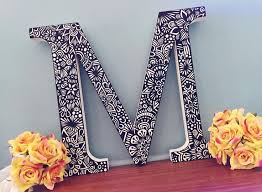 Custom Hand Painted Letter Is Going To A New Lovely Home If Interested In Anything