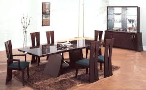 Italian Modern Dining Table Sets The Nice Warm And Cozy With