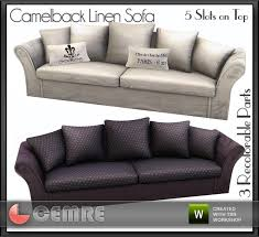 camelback slipcovered sofa restoration hardware cemre s mojito home collection camelback linen sofa