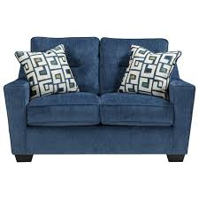 Ashley Larkinhurst Sofa And Loveseat by Ashley Furniture Cerdic Contemporary Loveseat With Shaped Track