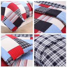 Elegant Red Navy Blue Plaid Patchwork Teen Boy Bedding Twin Full ... Kidkraft Fire Truck Toddler Bedding 77003 99 Redwhiteblue Baby Quilt Unavailable Launis Rag Firetruck Police Car And Ambulance Panel Amazoncom Carters 4 Piece Bed Set Dalmatian Fighter Crib Adorable Puppy Dalmatians Red White Blue At Artisans Folk Art Antiques Outsider Fireman Engines Trucks On Black Novelty Fabric Fat Boys Firefighter Dog 13 Pc Rescue Perfect Set For A Little Boys Room Kids Home Vintage Twin