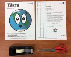 100 Space Articles For Kids Make A Planet Mask NASA Place NASA Science For