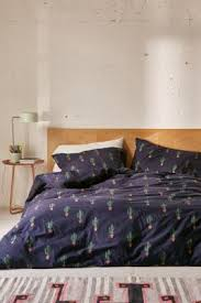 Urban Outfitters Bedding by Blue Cactus Print Duvet Set Urban Outfitters