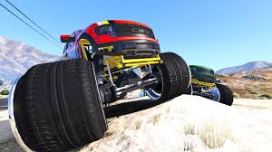 100 Ford Monster Truck Raptor Unlocked GTA5Modscom