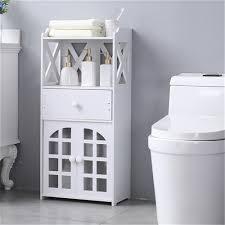 badezimmer seitenschrank badezimmerschrank nischenregal