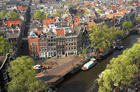 100 Birdview Bird View Of Amsterdam The Netherlands
