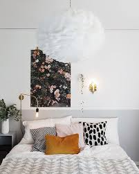 Off Center Wall Art Next To Two Accessories