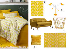 jet de canap jaune stunning deco chambre jaune moutarde ideas design trends 2017