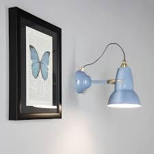 original 1227 brass wall light modern wall lighting anglepoise