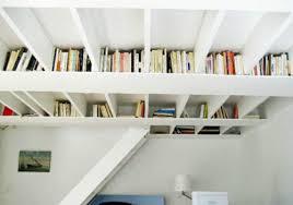 kreative ideen für bücher aufbewahrung hausbibliothek design
