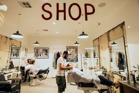 Barber Shop Design Ideas by Coiffe Talk With Culver City U0027s Blind Barber Smashbox Studios