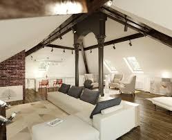 100 Loft Style Home Antique Living Room Brick Walls Decor Modern
