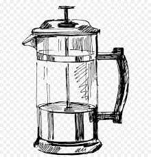 Coffeemaker Kitchen Kettle Drawing