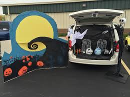 Nightmare Before Christmas Halloween Decorations Outdoor by Nightmare Before Christmas Trunk Or Treat Trunk Or Treat Ideas