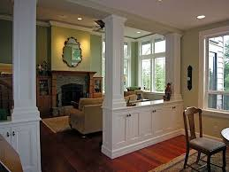 Living Room Dining Divider Cabinetry W Storage