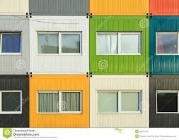 100 Containers As Houses Container Houses Stock Image Image Of Container Building