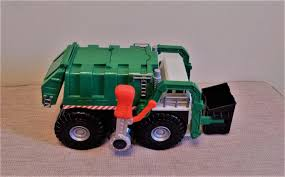 100 Tonka Strong Arm Garbage Truck RARE Boy Easter Gift Green Trash Pickup
