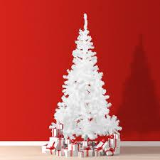 Signstek 6 Ft PreLit Fiber Optic Tipped Artificial Christmas Tree