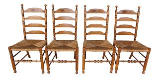 L Hitchcock Harvest Stenciled Ladder Back Rush Bottom Chairs - Set Of 4 6 Ladder Back Chairs In Great Boughton For 9000 Sale Birch Ladder Back Rush Seated Rocking Chair Antiques Atlas Childs Highchair Ladderback Childs Highchair Machine Age New Englands Largest Selection Of Mid20th French Country Style Seat Side By Hickory Amina Arm Weathered Oak Lot 67 Set Of Eight Lancashire Ladderback Chairs Jonathan Charles Ding Room Dark With Qj494218sctdo Walter E Smithe Fniture Design A 19th Century Walnut High Chair With A Stickley Rush Weave Cape Ann Vintage Green Painted