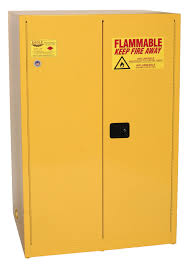 Flammable Liquid Storage Cabinet Requirements by Eagle Flammable Liquid Safety Storage Cabinet 90 Gal Yellow