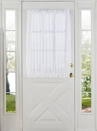 Sidelight Window Curtains Amazon by Front Door Window Curtains Curtains Ideas