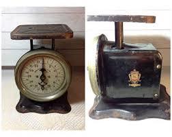 Pelouze Scale Kitchen Vintage Shabby Farmhouse Decor Prop Vignette