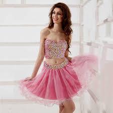 short pink sparkly prom dress naf dresses