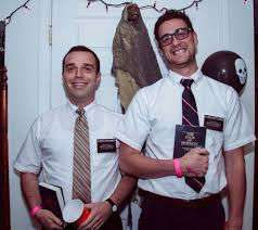 Jehovah Witness Celebrate Halloween by Halloween On Broadway Elder Cunningham And Elder Price From The