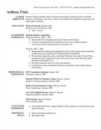 Boston College Resume Examples Lovely Confortable Post Template Graduate Of