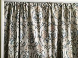 Car Window Curtains Walmart by Better Homes And Gardens Ikat Scroll Curtain Panel Walmart Com
