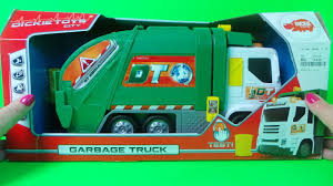100 Garbage Truck Youtube Dickie Toys GARBAGE TRUCK USA Design Unboxing Toy REFUSE TRUCK