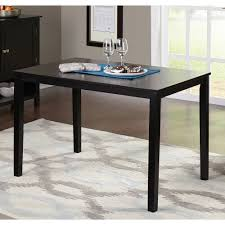 Black Kitchen Table Decorating Ideas by Black Dining Table For Your Kitchen Tcg