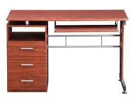 Techni Mobili Computer Desk With Side Cabinet by Computer Desk With Ample Storage Techni Mobili