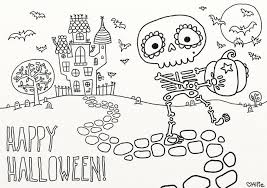 Game For Kids Coloring Pictures Happy Halloween Pages In Games