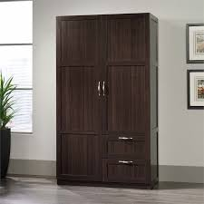 Sauder File Cabinet In Cinnamon Cherry by Sauder Select Wardrobe Armoire In Cinnamon Cherry 420055