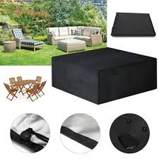 XIMULIZI 12 Sizes Waterproof Outdoor Patio Garden Furniture ... Hubsch Patio Table Covers Rectangular Round Zipper Seater Modern Accent Fniture Home Console Tables Chairs Bookcases 63 Cover Store 2xl Large Oval Adorable Outdoor Set Cool Ding Setup Outside Chair New Protectors For Recliners Uk Decorating Ideas Railing Below Small Ana Side Diy Gold Terrazzo Standard Marvelous Wrought Iron And Living Parsons White Slipcovers Arrangement Licious Room Rooms Bath For Replacement Cushions