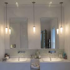 Chandelier Over Bathroom Vanity by Bathroom Lighting Excellent Pendant Lights For Bathroom Lowes