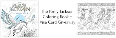 The Percy Jackson Coloring Book Giveaway