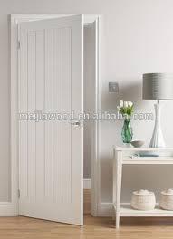 Plank Style Flush Door Slab American Rustic Interior