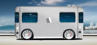Apple Unveils Self-driving Mini Electric Home On Wheels | Inhabitat ...